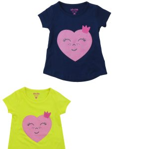 Smiley Heart Baby T-Shirt