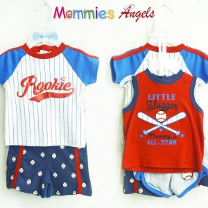 Rookie Little Slugger Mommy's All Star Baby 4pc Set