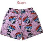 Dexter's Laboratory Mens Beach Shorts