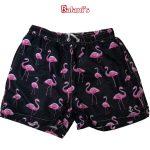 Flamingo Mens Beach Shorts