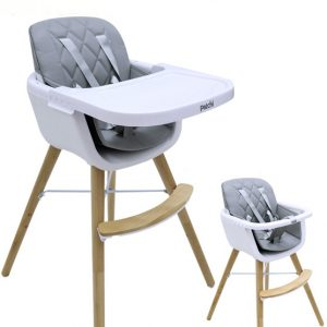 Patchi Wooden Baby Highchair