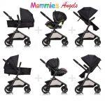 Evenflo PIVOT MODULAR TRAVEL SYSTEM WITH SAFEMAX INFANT CAR SEAT