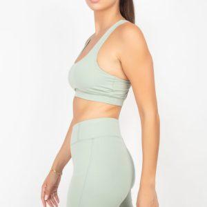 Elasticized Active Wear Set